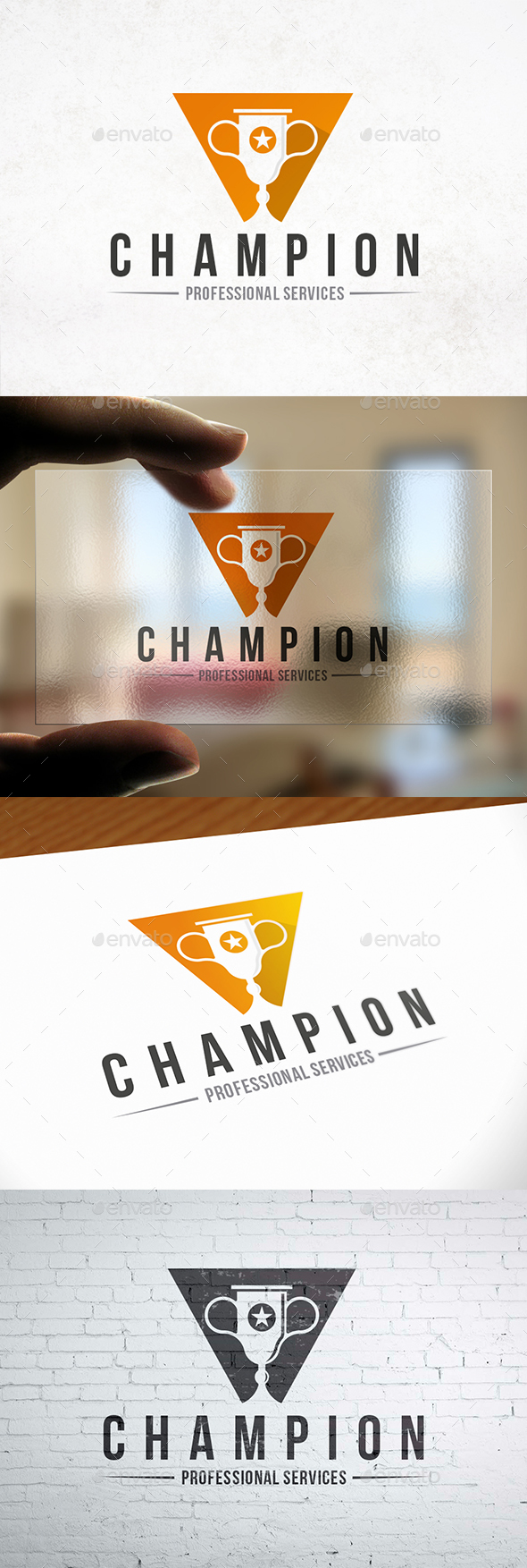 GraphicRiver Cup Winner Logo Template 21197932