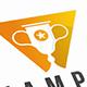 Cup Winner Logo Template