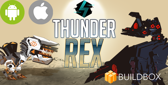 Horizon Thunder Rex- Action iOS/Android Mobile Game | Buildbox BBDOC, Xcode and Eclipse Source Codes - CodeCanyon Item for Sale