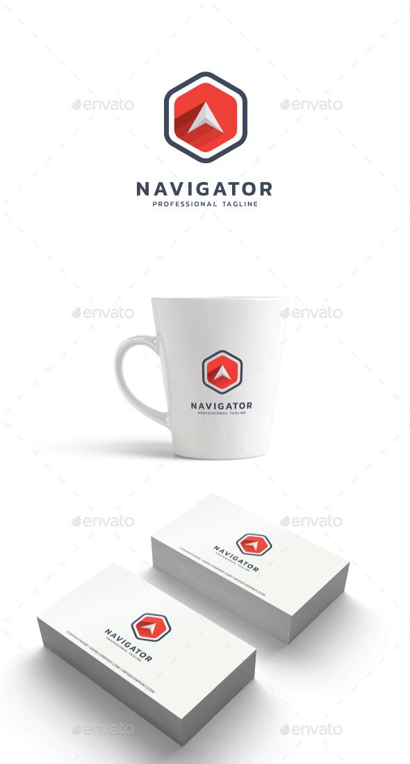 GraphicRiver Navigator Logo 21198126