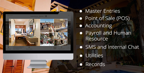 CodeCanyon Hotel Management Software Offline With Restaurant POS SYSTEM Install Only 21198136