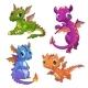 Little Dragons Set