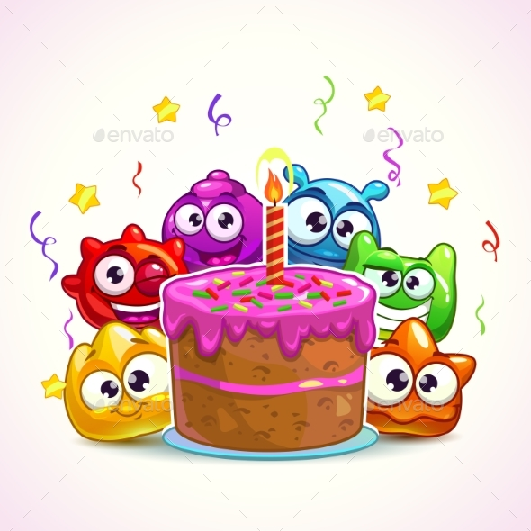 GraphicRiver Birthday Illustration 21198218