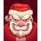 Bad Santa Face