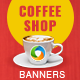 Coffee Shop Banner Set
