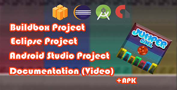 CodeCanyon JumperBall Buildbox & Eclipse & Android Studio Admob banner interracial 21199128