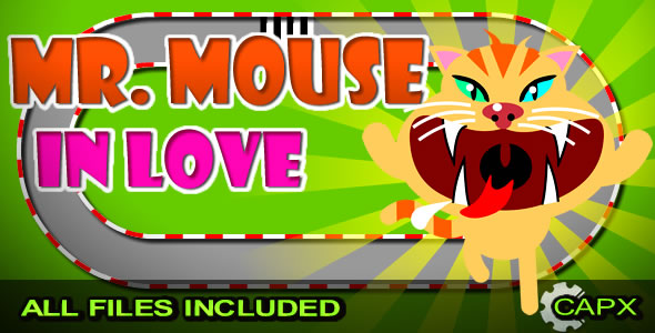 MR. Mouse - In Love (CAPX & HTML) - CodeCanyon Item for Sale