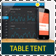 Web App Tech and Hosting Table Tent Template - GraphicRiver Item for Sale