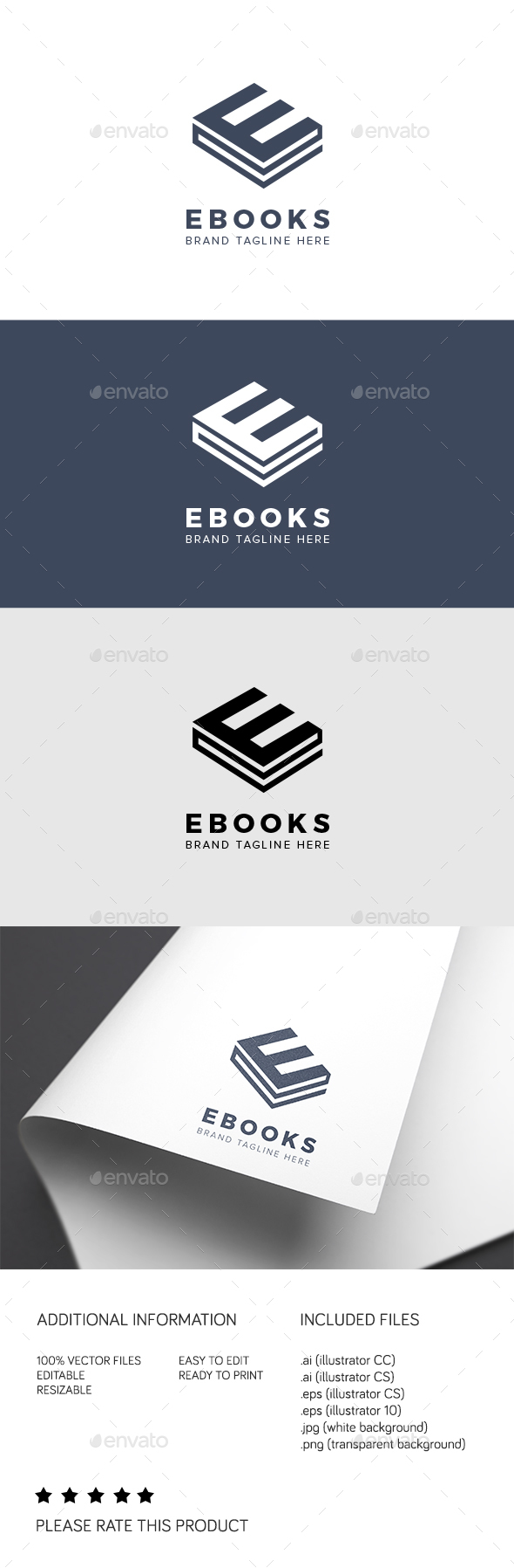 GraphicRiver Ebooks Logo 21197747