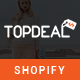 TopDeal - Multipurpose Shopify Theme with Sectioned Drag & Drop Builder - ThemeForest Item for Sale