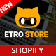 EtroStore - Responsive Multipurpose eCommerce Shopify Theme with 18 Layouts Ready - ThemeForest Item for Sale
