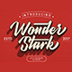 Wonder Stark Font - GraphicRiver Item for Sale