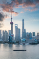 shanghai cityscape with morning glow - PhotoDune Item for Sale