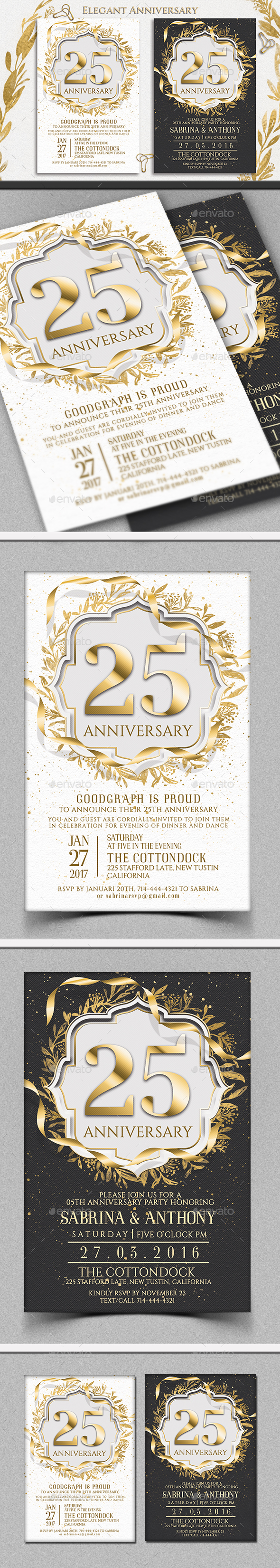 GraphicRiver anniversary Invitation 21199487