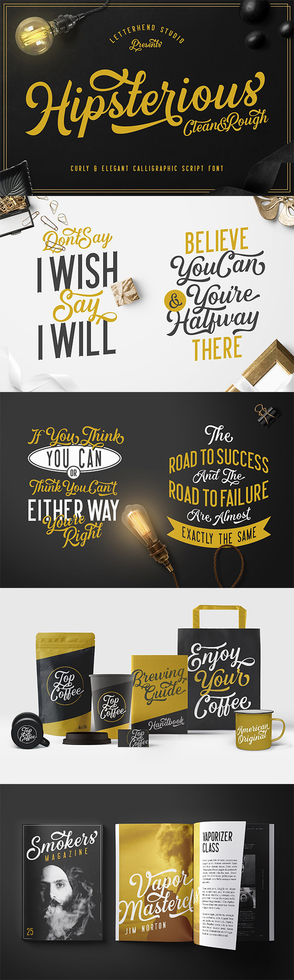 GraphicRiver Hipsterious Typeface 21199492