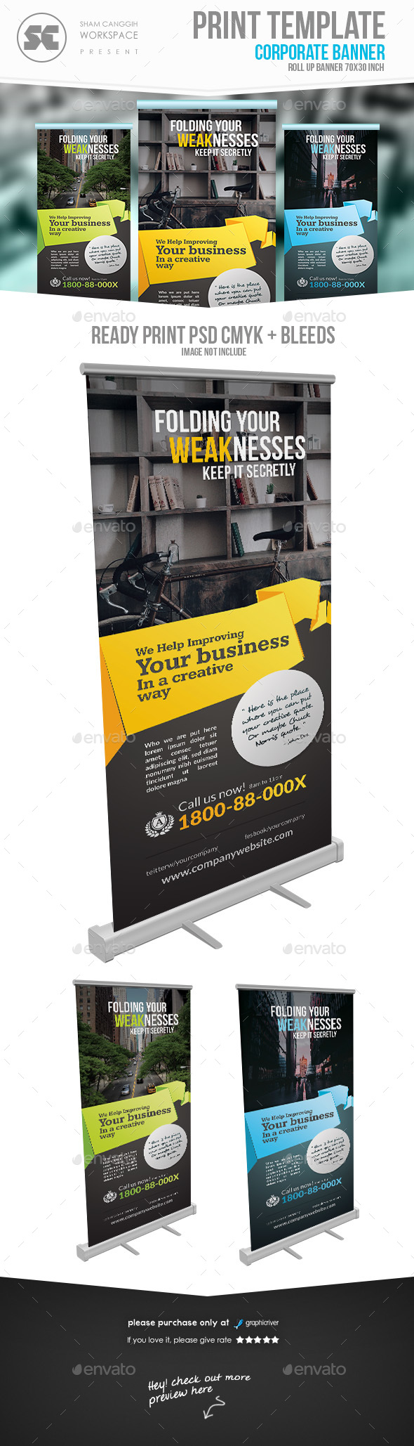GraphicRiver Multipurpose Corporate Banner 21199555