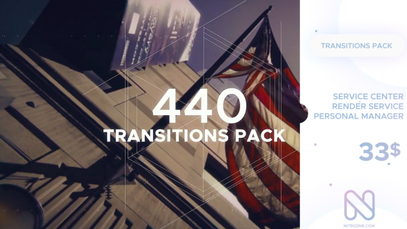 Transitions Pack 20074370 -  Free download