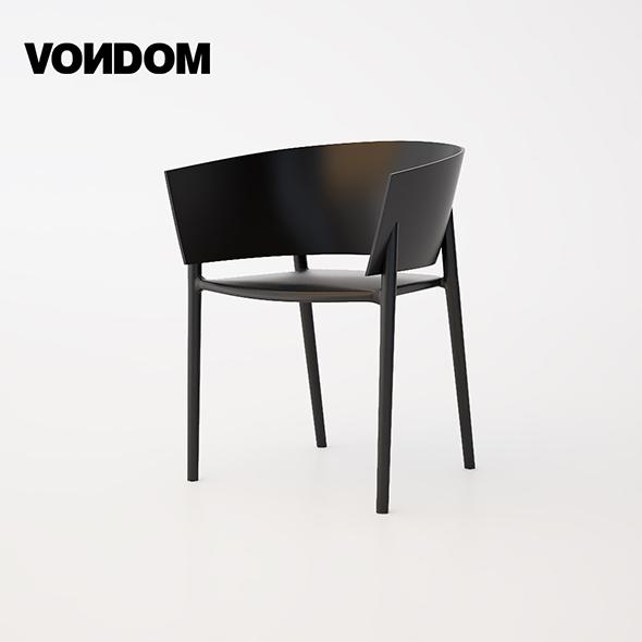 Vondom Africa Chair - 3DOcean Item for Sale