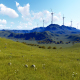 Wind Energy Tribune On Mountain - VideoHive Item for Sale