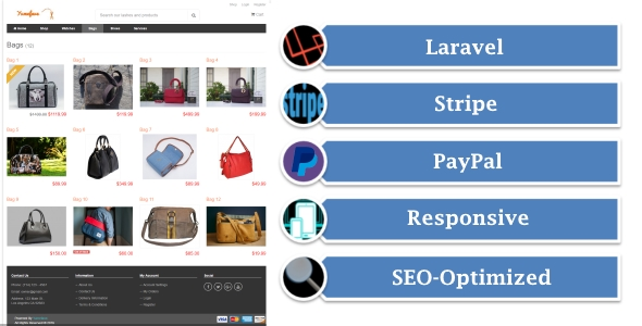 Yumefave | Laravel eCommerce Online Shop with Stripe and PayPal - CodeCanyon Item for Sale