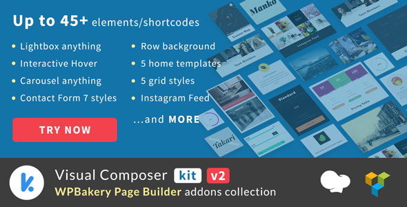 VCKit - WPBakery Page Builder addons collection (Visual Composer) nulled free download
