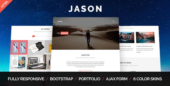 Jason - Personal Portfolio Template - Portfolio Creative