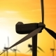 Wind Energy Turbines Are One of the Cleanest Renewable Electric Energy Source - VideoHive Item for Sale