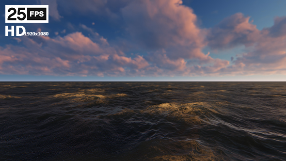 VideoHive Sea Cloud HD 21200148