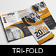 Corporate Event Tri-Fold Brochure
