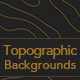 10 Topographic Map Backgrounds - GraphicRiver Item for Sale