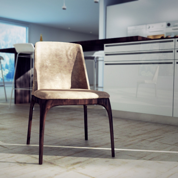 Poliform Grace Dining Chair - 3DOcean Item for Sale