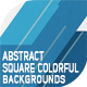 Abstract Square Colorful Backgrounds - GraphicRiver Item for Sale