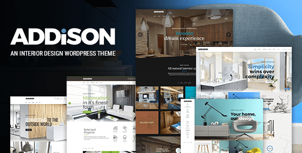 Addison - Interior Design & Decoration - Portfolio Creative