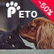 Peto - Responsive WooCommerce WordPress Theme for Pets and Vets