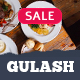 Gulash - delicious restaurant & coffee theme - ThemeForest Item for Sale