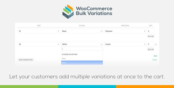CodeCanyon WooCommerce Bulk Variations 21200696
