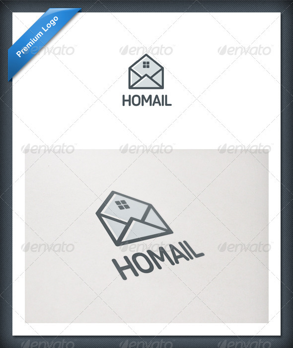 Home Mail Logo Template - Objects Logo Templates