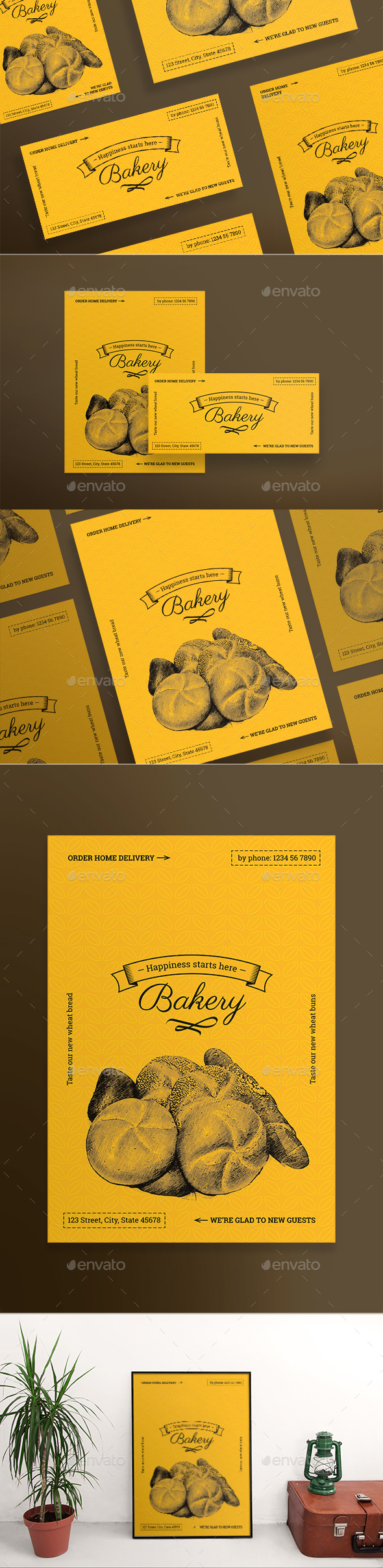 Bakery Flyers - Restaurant Flyers