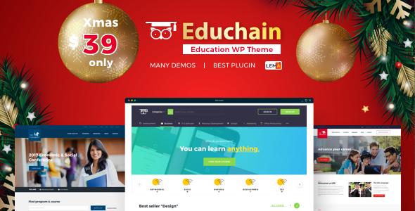 EduChain - Education & LMS WordPress - Education WordPress
