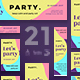 Color Party Banner Pack