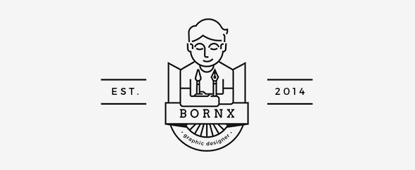 Bornx logo gr