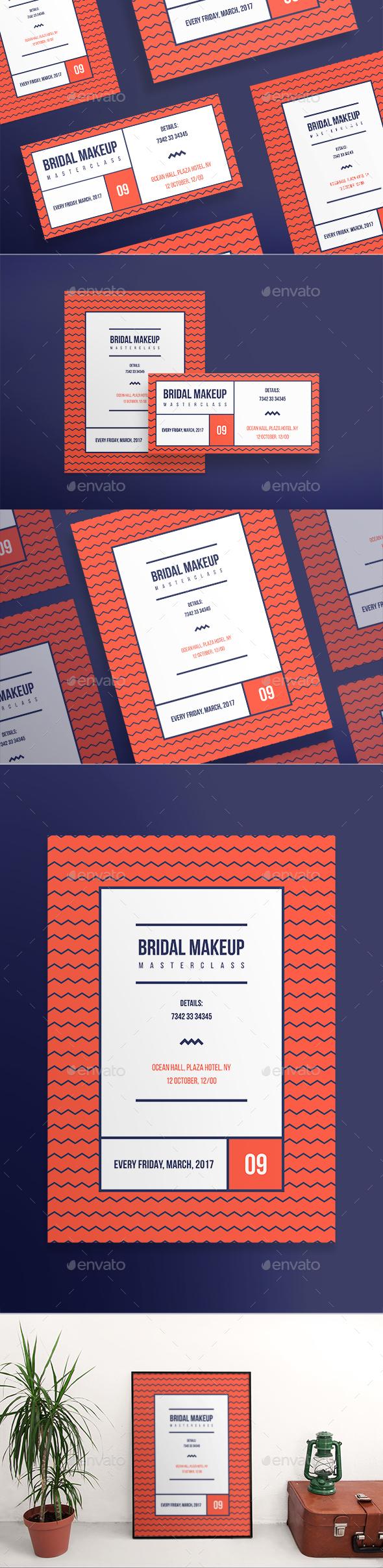 Bridal Makeup Flyers - Miscellaneous Events