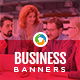 Restaurant & Cafe HTML5 Banners - 7 Sizes
