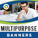 Multi Purpose HTML5 Banners - 7 Sizes - CodeCanyon Item for Sale
