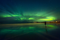 Amazing view on the northern lights - PhotoDune Item for Sale