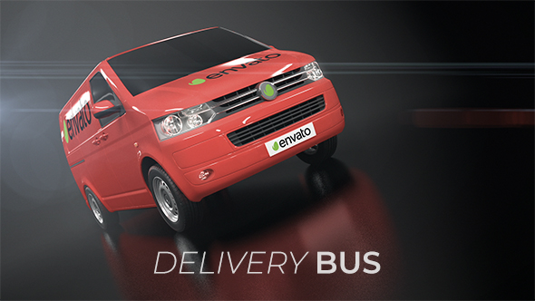 VideoHive Delivery Bus 21201116
