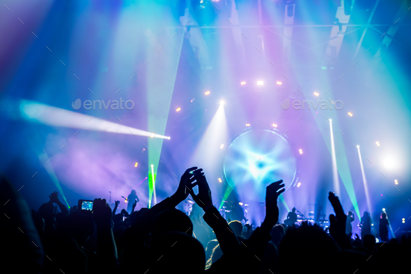 Concert background - Stock Photo - Images