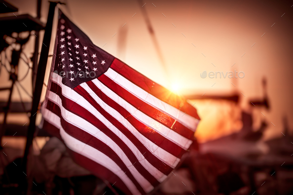 Flag of United States of America - Stock Photo - Images