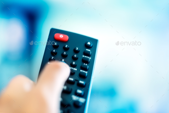 TV remote - Stock Photo - Images
