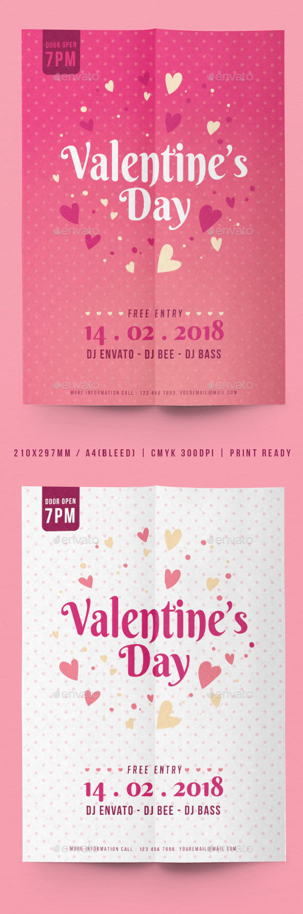 Valentine's Day Flyer - Events Flyers